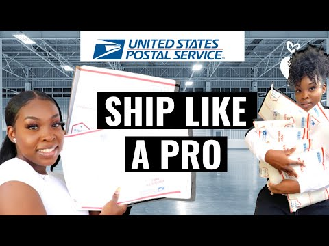 HOW TO SAVE MONEY ON SHIPPING RATES AND HOW TO GET FREE USPS SHIPPING SUPPLIES