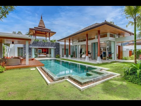 New gorgeous pool villa for sale in Bang Tao, Phuket, Thailand