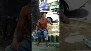 Video lucu orang gila ceramah tentang kehidupan