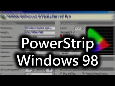 Do you use PowerStrip with Windows 98?