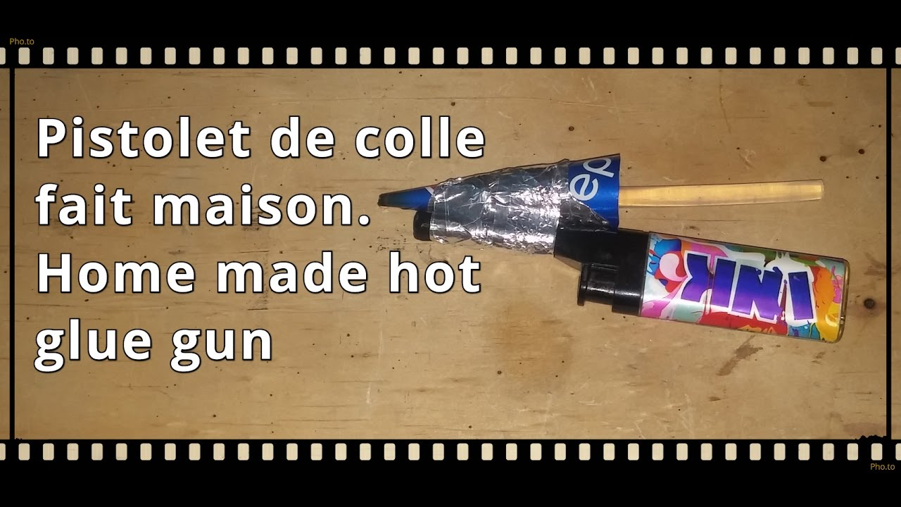 Diy simplest home made hot glue gun in the world - Diy pistolet a colle ...