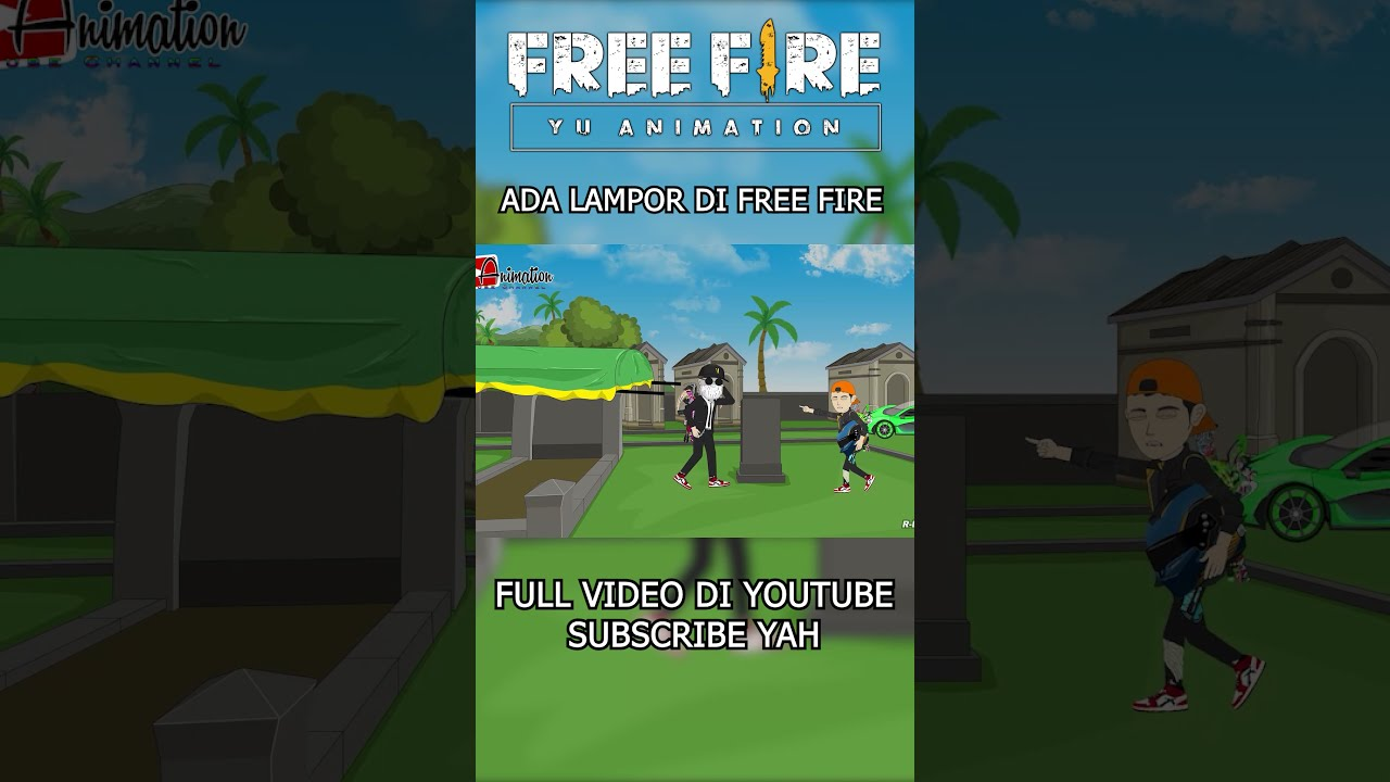 Lampor di Free Fire -  Animasi Free Fire #Shorts