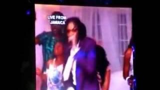 VYBZ KARTEL LIVE Via Satellite 'Best Of The Best' Miami FL, Memorial Day Weekend 2011 Pt 2 Of Di End