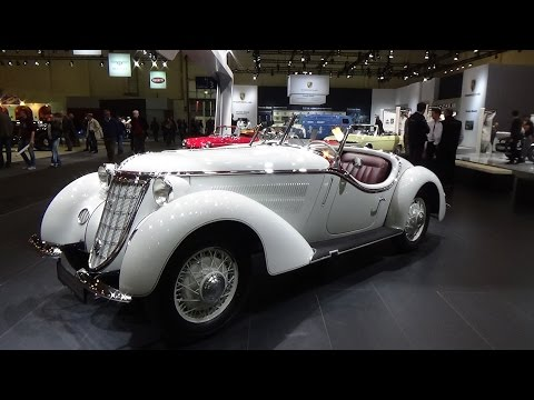 1937, Wanderer W 25K Roadster, Exterior and Interior, Techno Classica Essen 2015