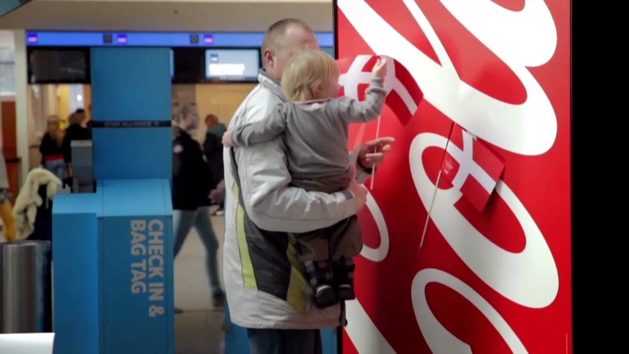 Coca-Cola - The Happy Flag