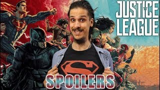 Justice League - SPOILERS REVIEW