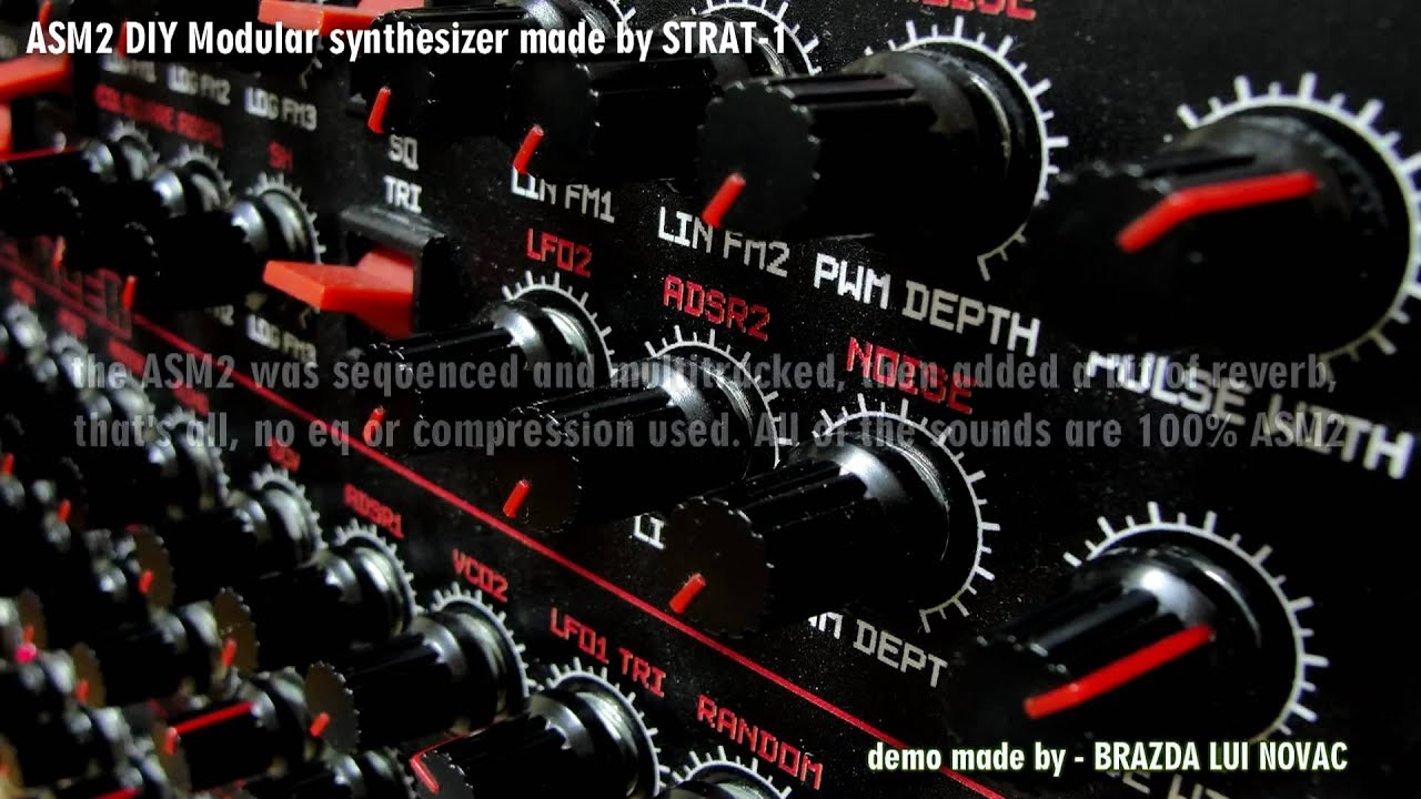 asm2 modular synthesizer demo youtube. Black Bedroom Furniture Sets. Home Design Ideas
