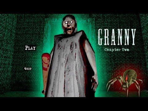 РЕЖИМ кошмаров в ГРЕННИ 2 обновление Каспер играет в Granny Chapter Two