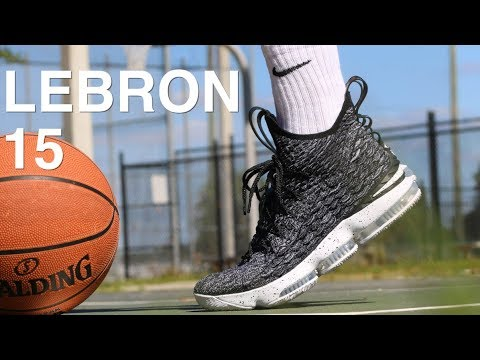 huge discount b791c 516f5 NIKE LEBRON 15 PERFORMANCE FIRST IMPRESSION!!!