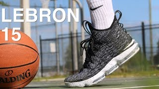 NIKE LEBRON 15 PERFORMANCE FIRST IMPRESSION!!!