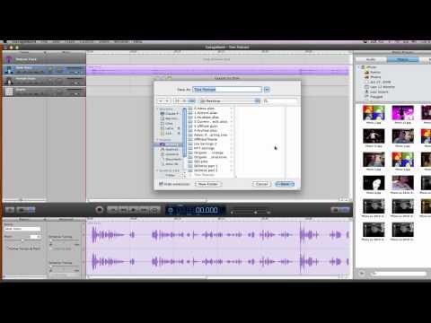 How To Convert Garageband To MP3 - YouTube