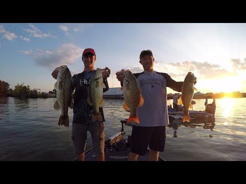 Bass Fishing On Lake Erie And Meeting Chris Zaldain!!!!