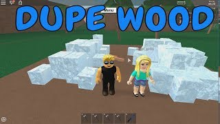 Roblox Lumber Tycoon DUPE WOOD solo without friend
