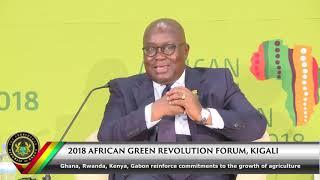 2018 African Green Revolution Forum, Kigali