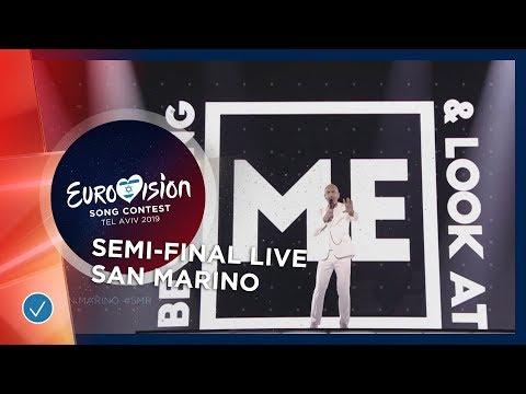 San Marino - LIVE - Serhat - Say Na Na Na - First Semi-Final - Eurovision 2019