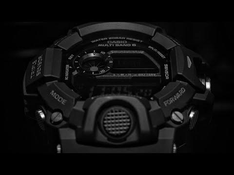 THE BLACKED OUT BLACK GW-9400J-1B G-SHOCK RANGEMAN