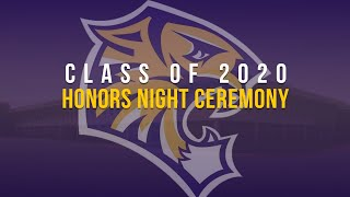 Hagerstown Class of 2020 Honors Night Ceremony