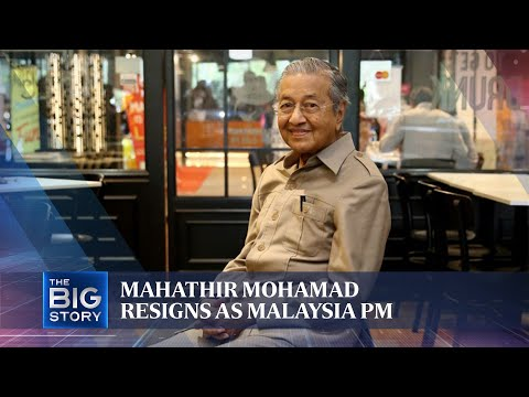 Download  Mahathir Mohamad resigns as Malaysia PM | THE BIG STORY | The Straits Times Gratis, download lagu terbaru