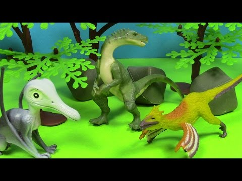 Part 2!!!  Paleontology Surprise Egg Toys Become Dinosaurs 3D and archaeologist and paleontologist