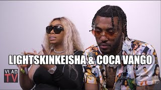 LightSkinKeisha Denies Any Knowledge of Coca Vango's Scam Hustle (Part 1)