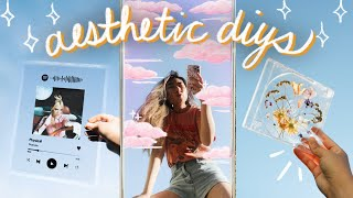 aesthetic diys ✨ ☁️ & announcement! | JENerationDIY