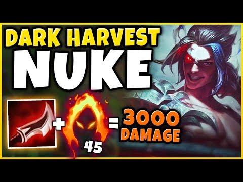*OVER 40 KILLS* #1 KAYN WORLD NEW WORLD RECORD DARK HARVEST STACKS! - League Of Legends