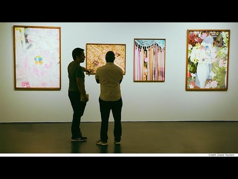 Euronews:The international art scene in Dubai continues to grow