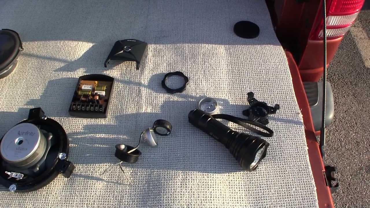 2001 Dodge Dakota Qc 4x4 47l How To Upgrade Install Infinity Speaker Wiring For Slt Starfish I Mount 10 Youtube