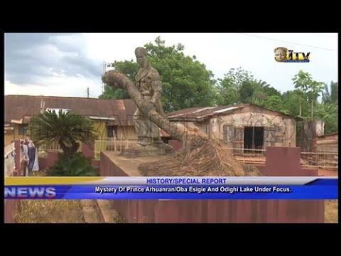 Mystery of Prince Arhuanran/Oba Esigie and Odighi Lake under focus