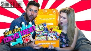 British Couple Try Japanese Snacks - Snack It or Pack It - Tokyo Treat