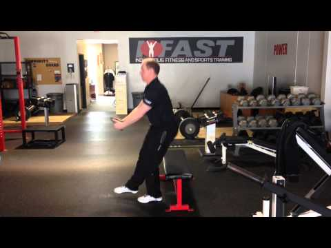 Single-Leg Squat to Box