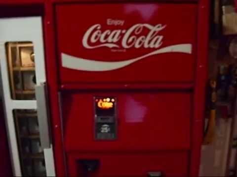 1975 Vendo Coke Machine Restoration Video