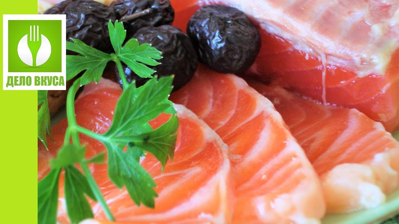 Как засолить красную рыбу. Очень быстро и просто. Малосольная сёмга, форель, горбуша, лосось, кета.
