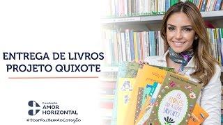 Doação de livros ao Projeto Quixote FAH