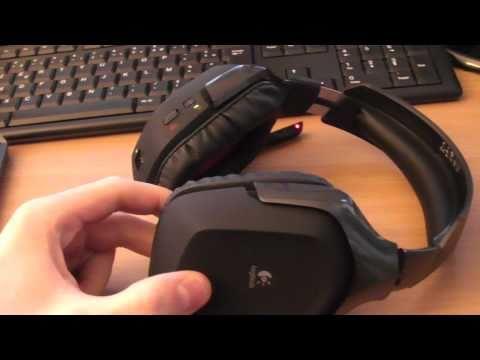 test du casque logitech wireless gaming headset g930 youtube. Black Bedroom Furniture Sets. Home Design Ideas
