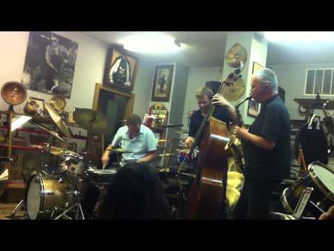 Frode Gjerstad Trio @ Revival Drum Shop 12.5.12