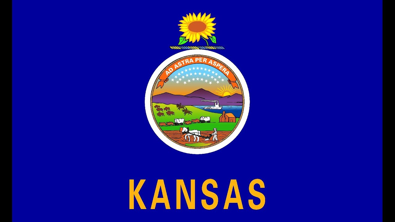 Kansas flag and its story youtube buycottarizona