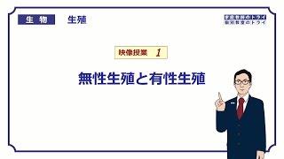 【高校生物】 生殖1 無性生殖と有性生殖(17分)