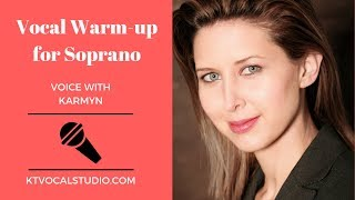 Vocal Warm-up for Soprano Voice