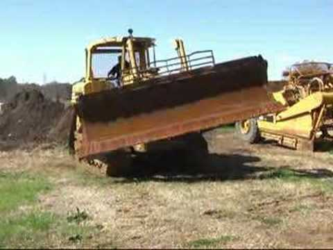 Caterpillar D6H High-Track Bulldozer Demo Clip