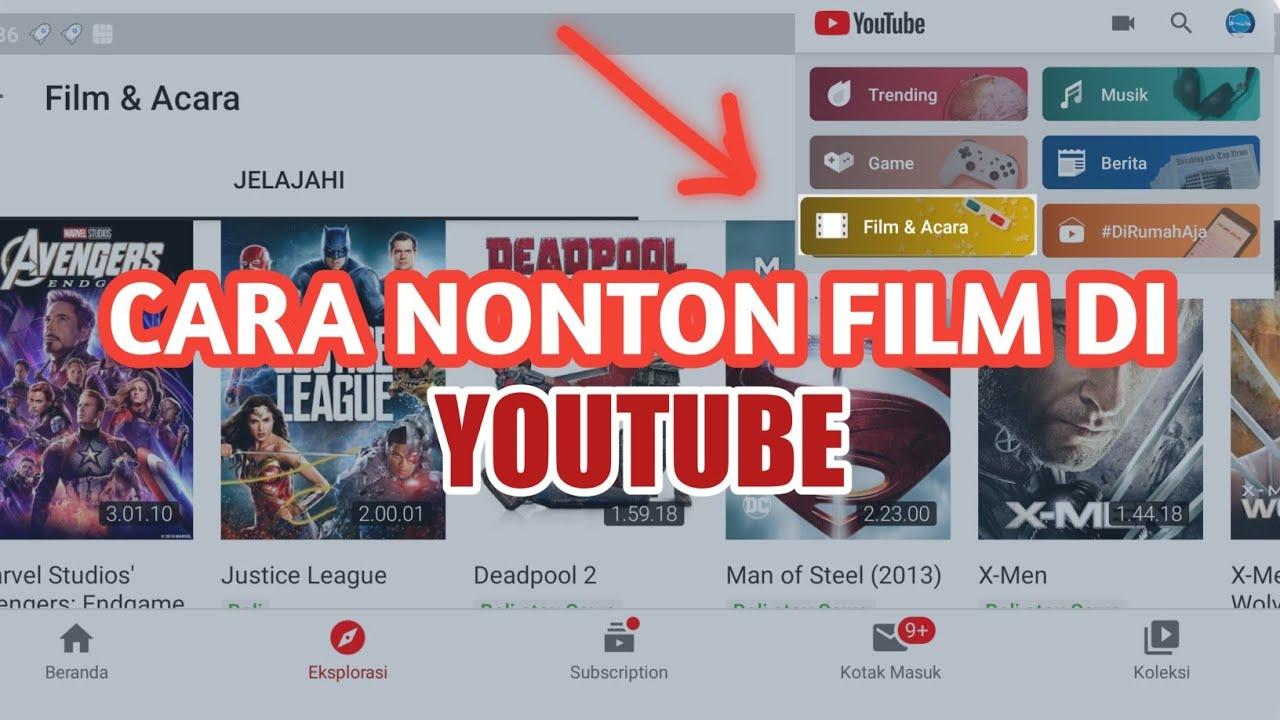 Download Cara Nonton Film Di Youtube