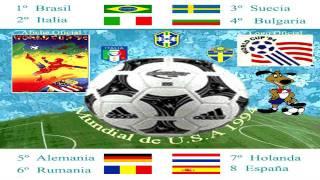 Mundial USA 1994  World Cup - Gloryland  Daryl Hall - Composición Gráfica