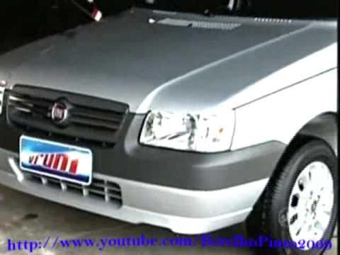 VRUM - Teste do FIAT Uno Economy - 19-07-2009 - YouTube Fiat Uno Portas Em Recife on