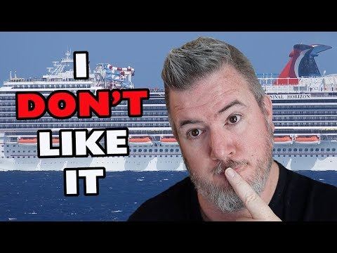 3 THINGS I DO NOT LIKE ON CARNIVAL CRUISES THAT OTHER PEOPLE LOVE