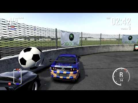 Forza Motorsport 4 World Cup Car Soccer 13 Mustang 5.0 awd
