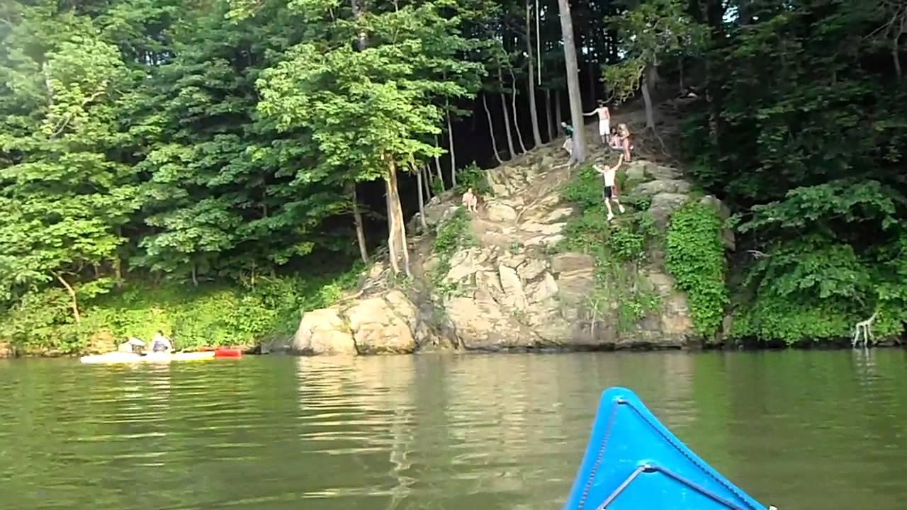Cliff jumping at blue marsh youtube for Blue marsh lake fishing