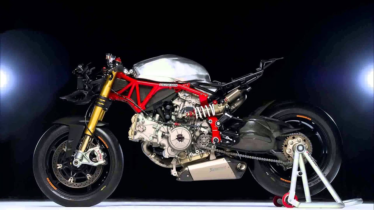 2015 model ducati 1199 panigale s cafe racer - youtube