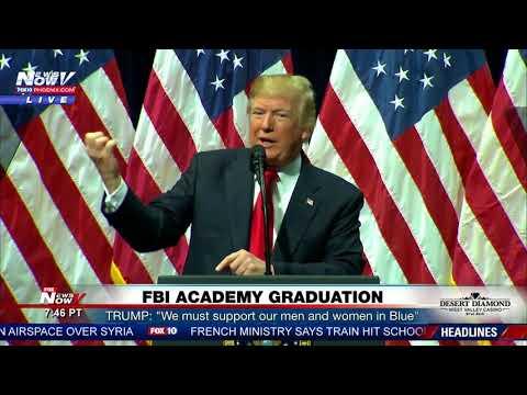 MUST WATCH: President Trump Speaks To FBI Graduates