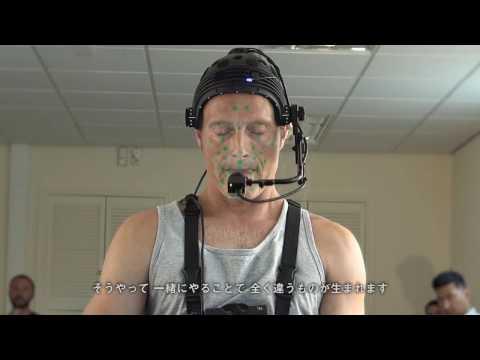 Mads Mikkelsen performance capture in Death Stranding