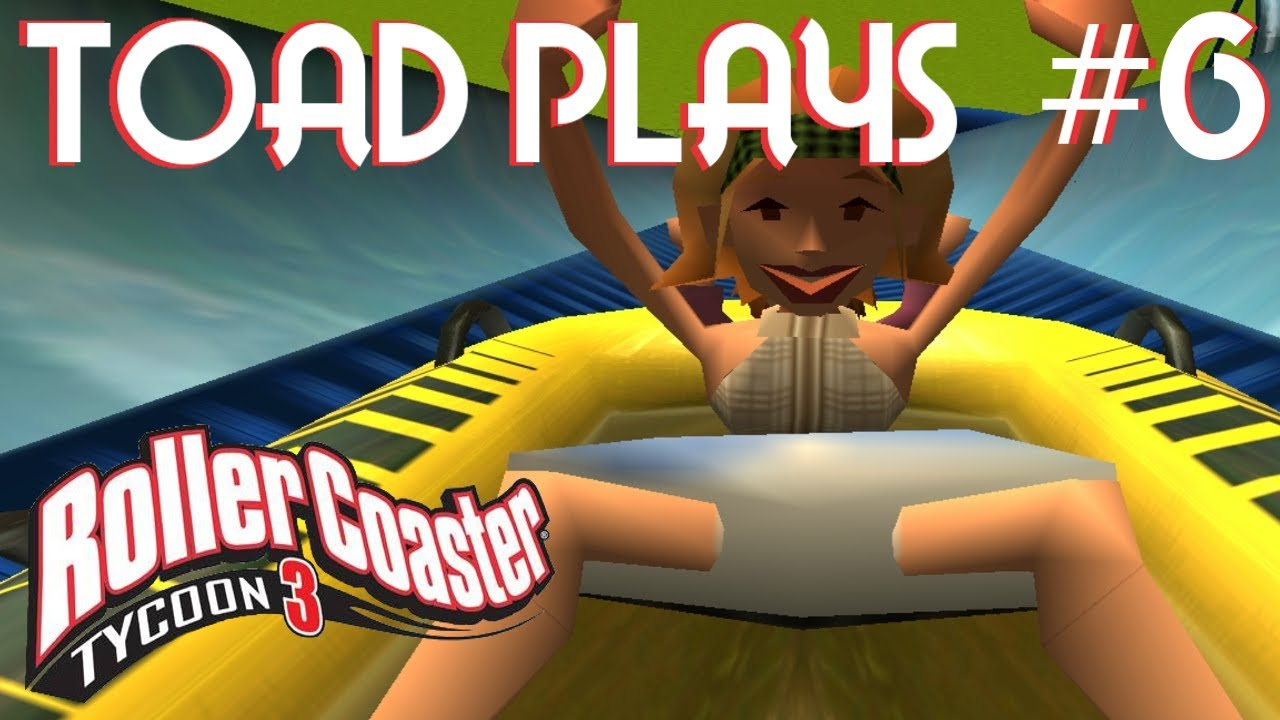 Roller coaster tycoon part accidental up skirt